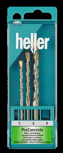 ProConcrete Beton- & Steinbohrer Set