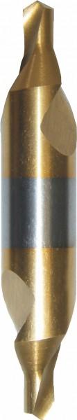 HSS-TIN Zentrierbohrer DIN 333 Form A rechts