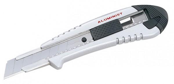 Tajima Aluminist Cutter 18mm silber mit Taste