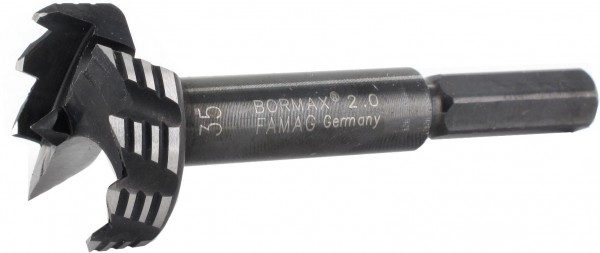 FAMAG Bormax® 2.0 WS der rasante Forstnerbohrer Ø 10,0 mm