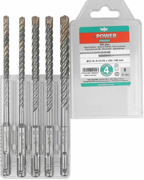 Heller 4Power SDS-plus Hammerbohrer 5-teilig