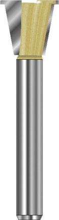 Grat-/Zinkenfräser mit Vorritzer