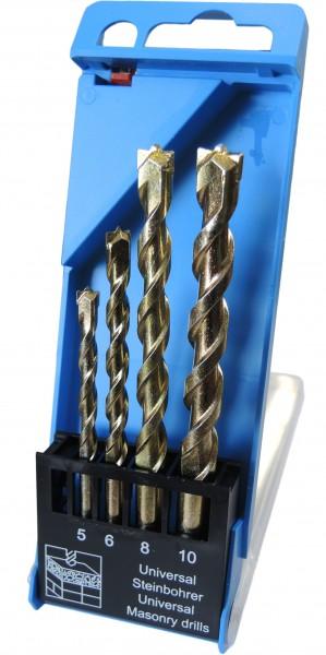 HM Universal Steinbohrer mit Zentrierspitze 4-teilig
