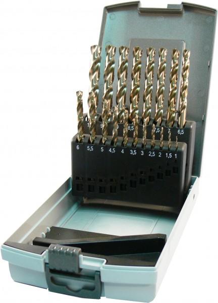 HSS-E DIN 338 Co5% in Kunststoffkassette